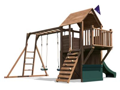 BalconyFort Searcher Climbing Frame W4.7m x D3.8m