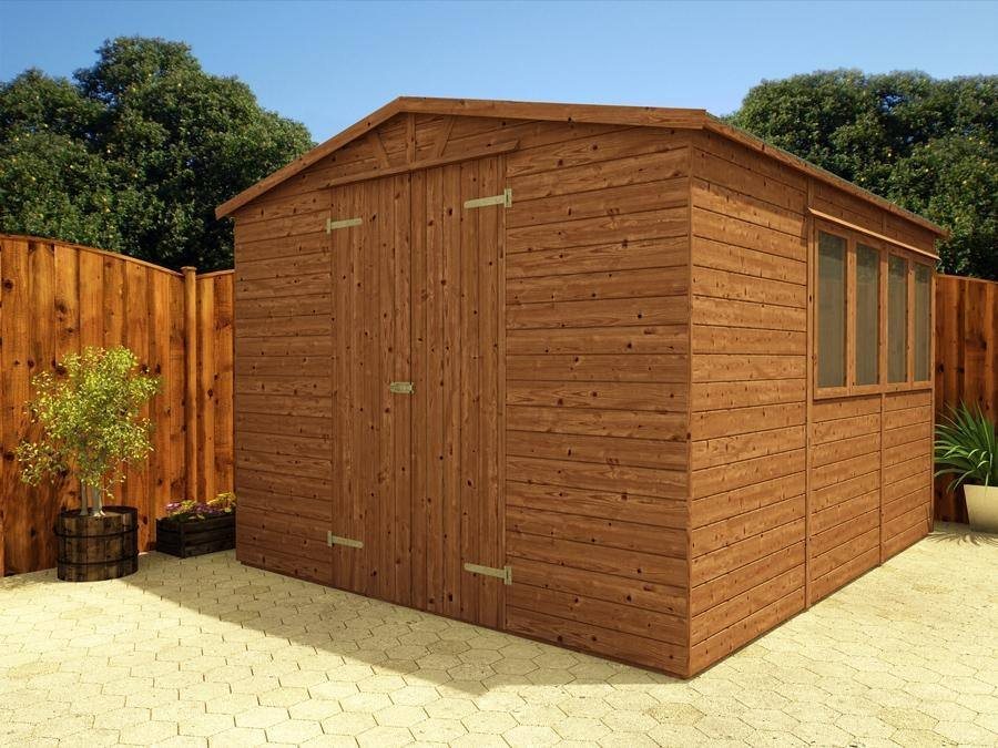 Yankee B Low Shed W3.05m x D3.6m