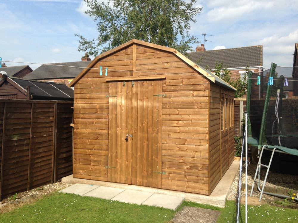 Yankee B High Shed W3.05m x D3.6m