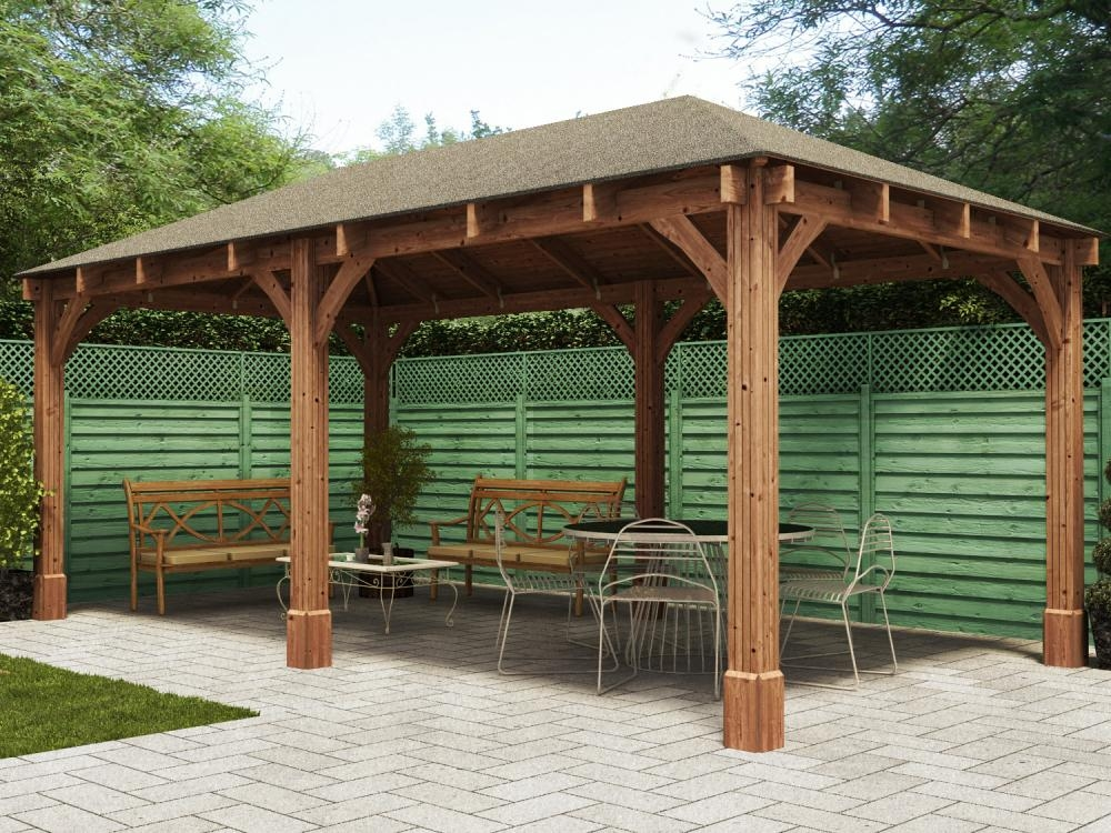 Dunster House Export Website Atlas Open Gazebo W6 0m X