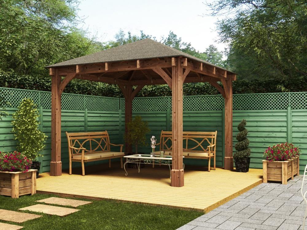 Dunster House Export Website Atlas Open Gazebo W3 2m X