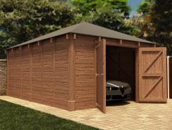 Hercules Single Garage W4.2m x D6.0m