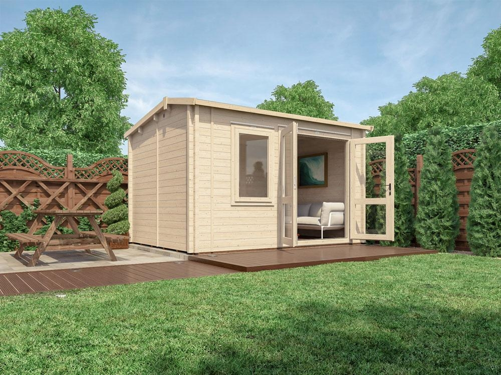 Carsare Warmalog Insulated Log Cabin W3.80m x D2.80m