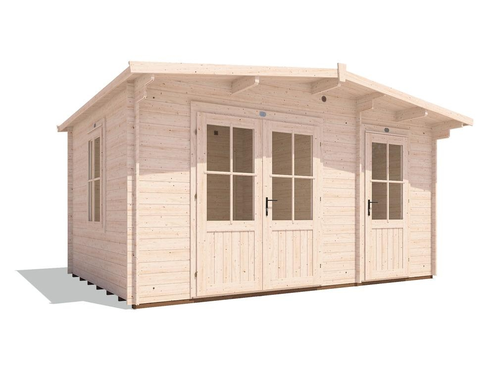 EvilJeff Multi Room Log Cabin W4.5m x D3.0m