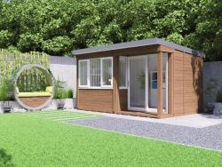 Helena Garden Office - Right W4.3m x D2.7m