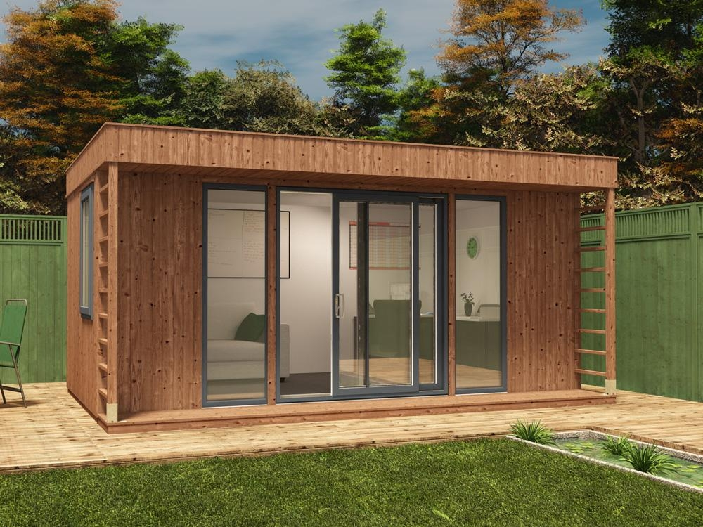 Dunster house ltd theodore garden office x for Garden office and shed