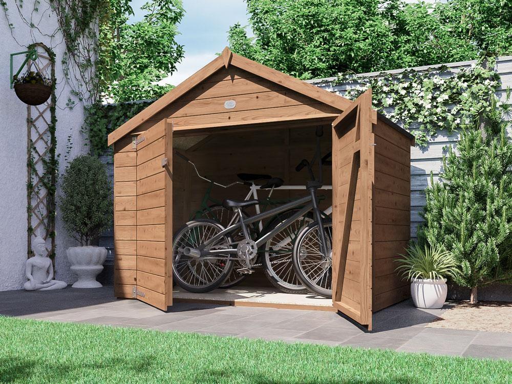Ariane Bike Storage Shed ...
