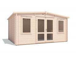 Severn Warmalog Insulated Log Cabin W4.8m x D3.8m