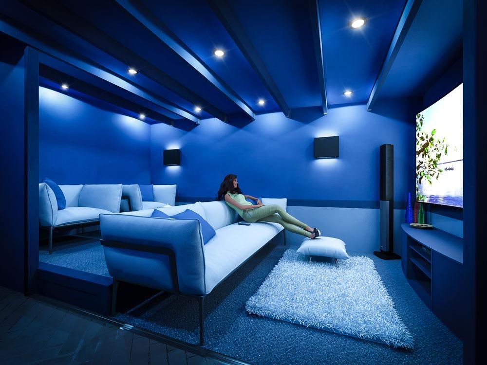 Man Cave Cinema Room : Man cave cinema left w4.8m x d3.7m caves